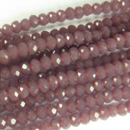 Glasstrang Opaque Light Rose 4mm