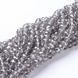 Glasstrang Crystal Satin 4mm