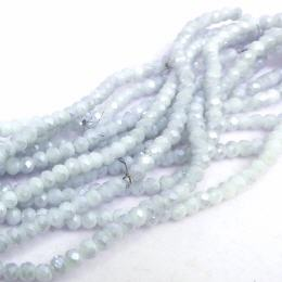 Glasstrang Opal Grey  4mm