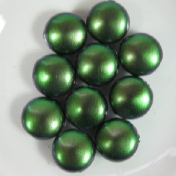 Pearl Coin Pastell Green