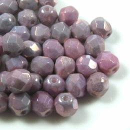 Glassch. 6mm Luster Metallic Amethyst