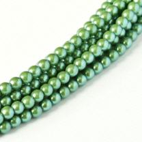 Pearl Shell Silver Blue 3mm