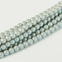 Pearl Shell Smoked Silver 2mm
